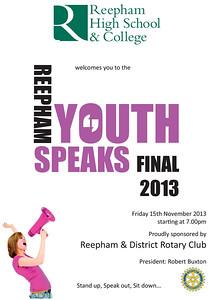 Youth Speaks 2013