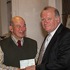 Past President Coen van Beuningen presenting a cheque for £1500 to Paul Daynes of Norwich and Central Norfolk MIND
