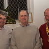 Richard Cooke, with new member John Pickering after induction by President Coen on 15th December 2014