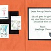 Thank you from the Primary school