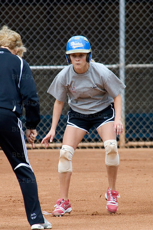 EXCLUSIVE- Reese is training softball for a new movie in Los Angeles,California.(Photo by Michel Boutefeu)