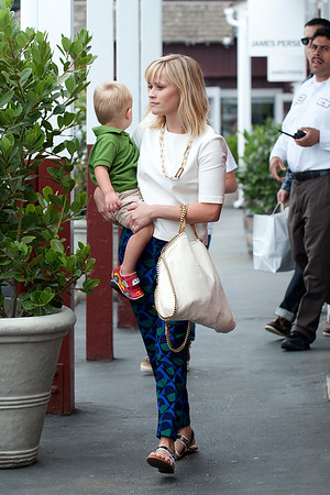 Reese witherspoon seen in Brentwood