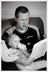 07/19/09- Daddy story time