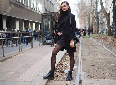 119700356-milan-italy-february-24-2019-young-street-style-outfit-model-after-dolce-gabbana-fashion-show-during