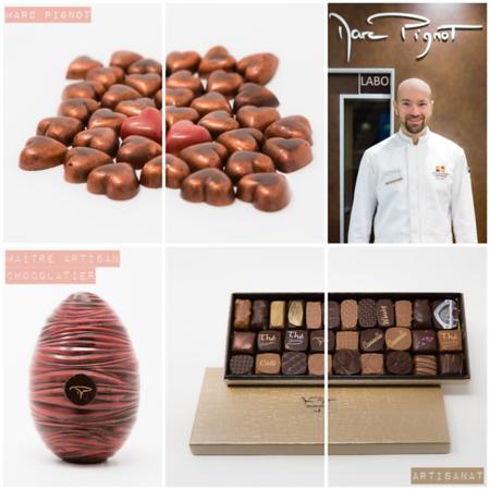 Janvier 2018 - Produits d'un Maître Artisan chocolatier