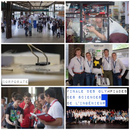 Mai 2017 - Finale de la 8ème Olympiade des Sciences de l'Ingénieur