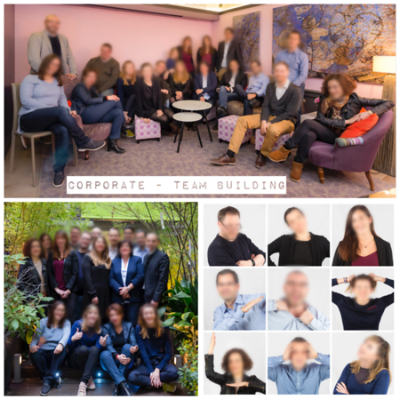 Janvier 2017 - portraits Team Building