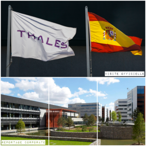 Avril 2019 - Visite Officielle Thales