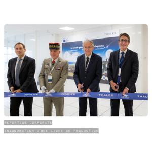 Septembre 2017 - Inauguration d'une ligne de production