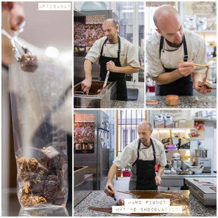 Octobre 2017 - Marc Pignot, Maître Artisan chocolatier