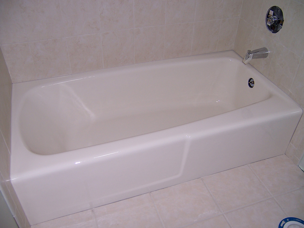Tubs can be refinished to match new tile, a toilet or updated decor.
