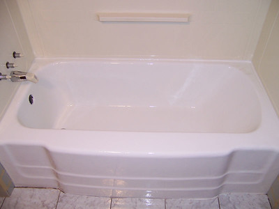 Refinished  Porcelain Bathtub