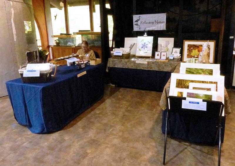 Watkins Nature Center Green Craft Fair, November 2017
