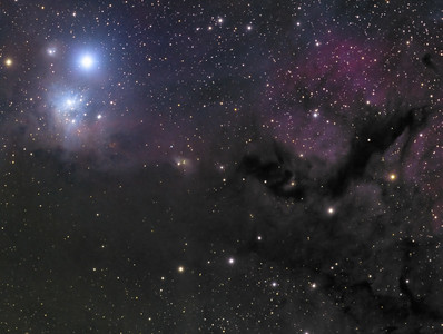 IC-348  (Reflection Nebula)  B-3  B-4  (Dark Nebula)