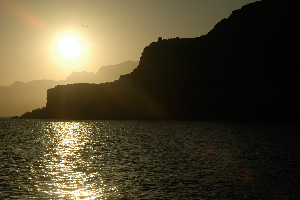 Sunset on a Baja Shoreline