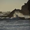 Waves on a Rocky Coast