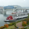 Delta Queen on a Foggy Morning in Chattanooga.