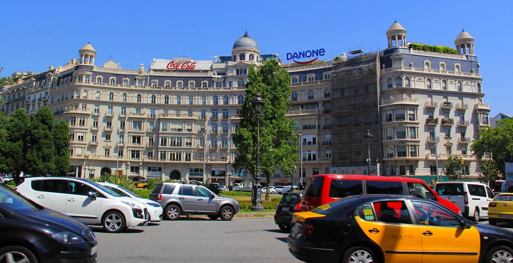 Downtown Barcelona