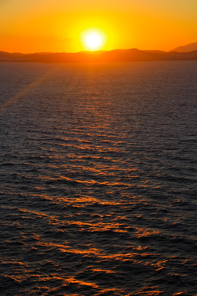 Sunrise On The Mediterranean Sea