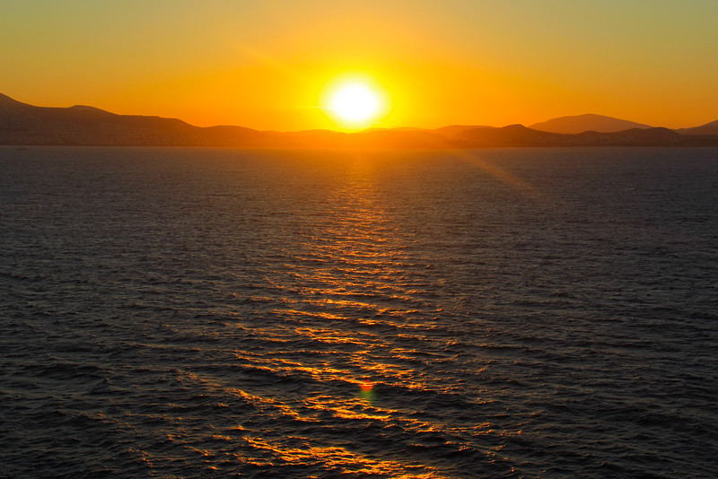 Sunrise On The Mediterranean Sea