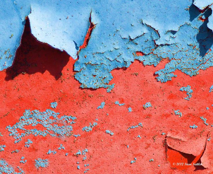 Auto Junk Yard - Peeling Paint 2