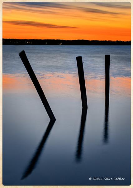 Havre De Grace Sunrise (3 piles)