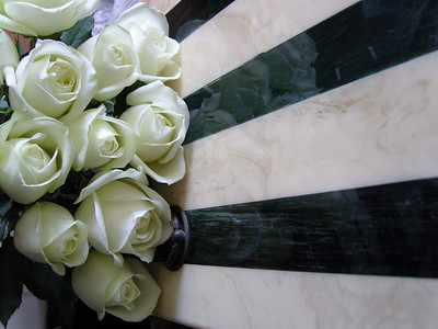 White roses lovers for Valentines, Wedding, Birthday