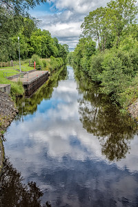 Reflections at Drumhauver Lock, Co. Leitrim