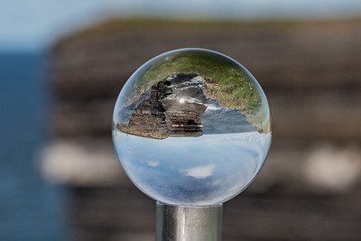 Downpatrick Head in Crystal Ball, Co. Mayo