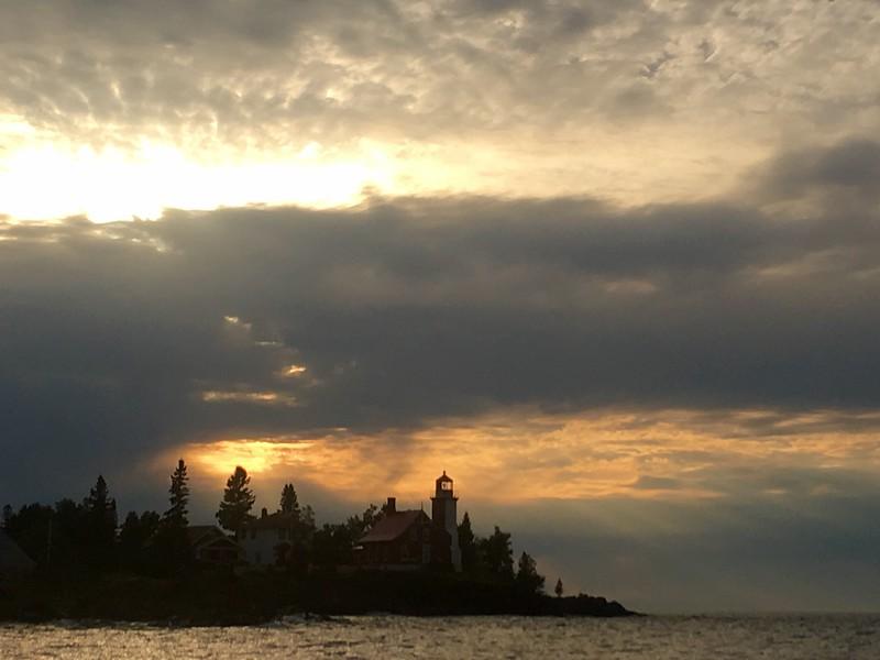Lighthouse Sunset IV