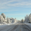 Yooper Winter Highway Panoramic