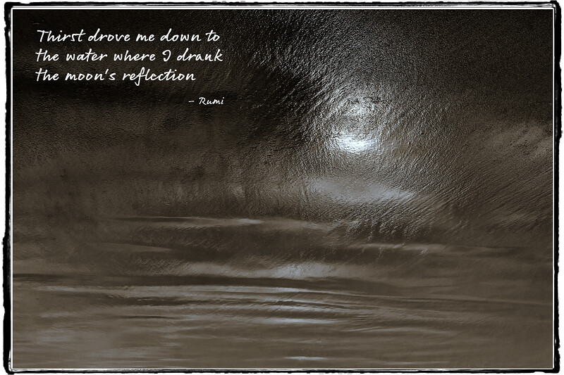 The Moon's Reflection