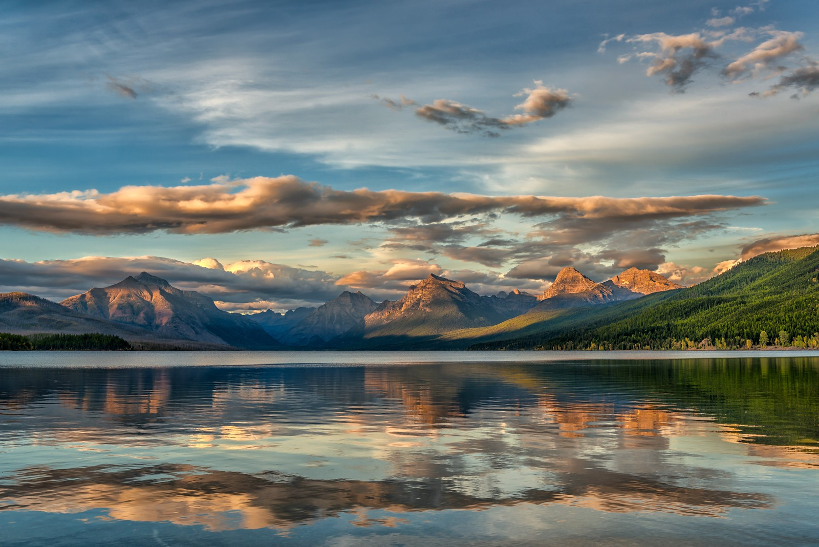 McDonald Lake Morning