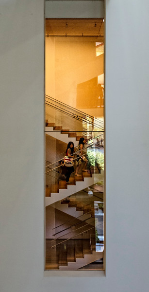 MoMA Stairwell