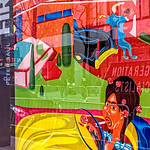 Yellow Car, Black Street Car, Peter Saul