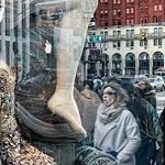 Mannequin, Leg of Poseidon, Pedestrians, Beads