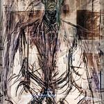 Giacometti on a Facade #2