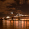 San Francisco-Oakland Bay Bridge_Super Moon