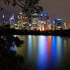 Sydney Skyline Reflection 2010