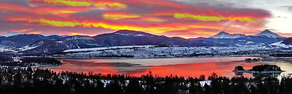 Lake Dillon Fire and Ice