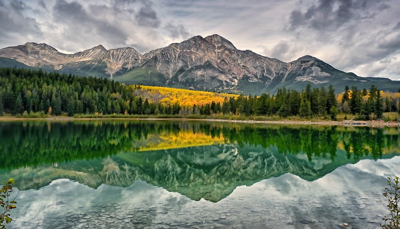 Patricia Lake Reflections