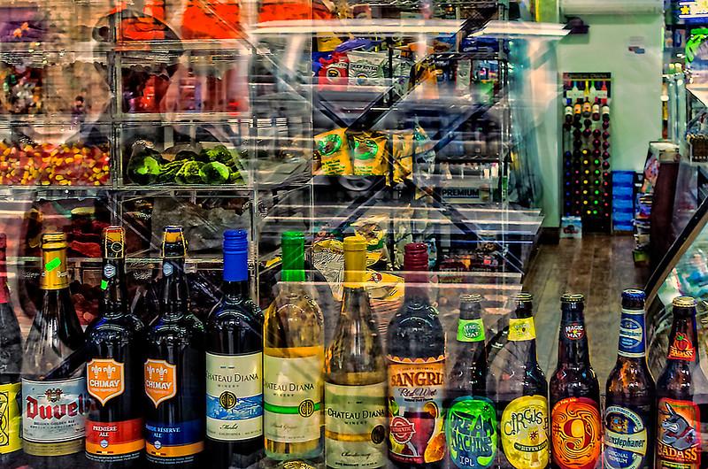 Shadow of Doug, Bottles, NYC Store