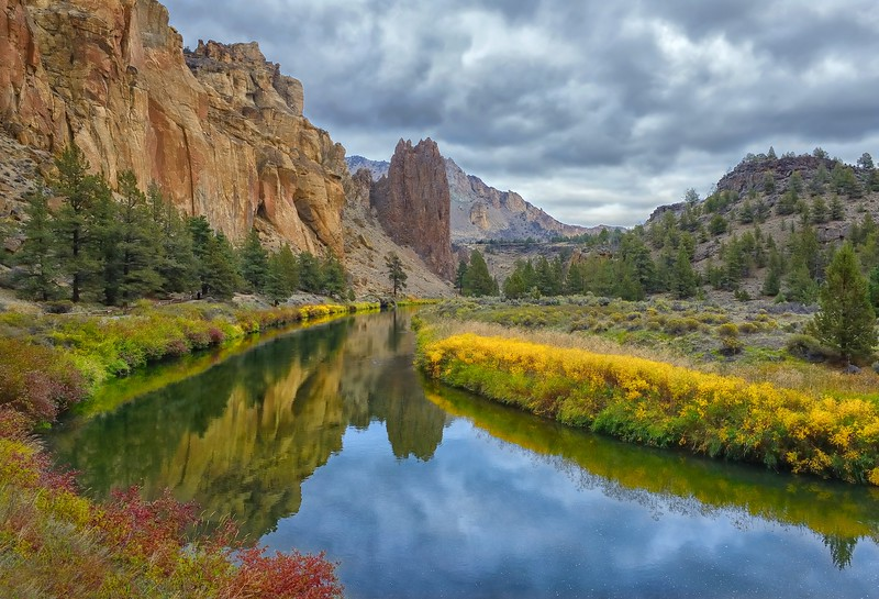 Autumn at Smith Rock