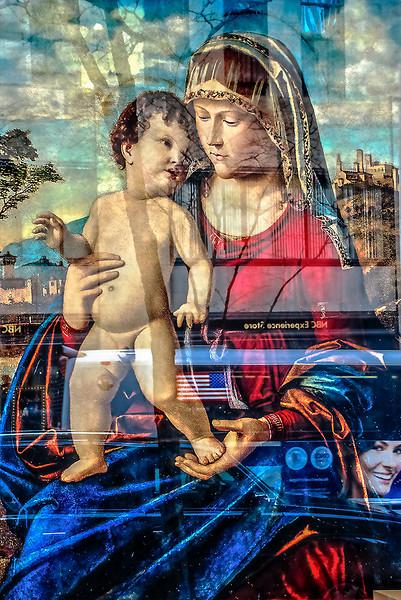 Renaissance Painting, Street Reflections