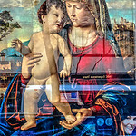Renaissance Painting, Street Reflections