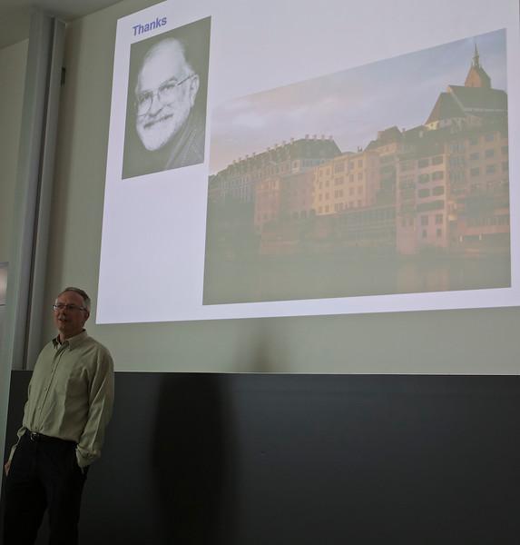 Tad Kawecki is now a professor in Lausanne.