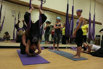 Reflex Arts Aerial Yoga Training