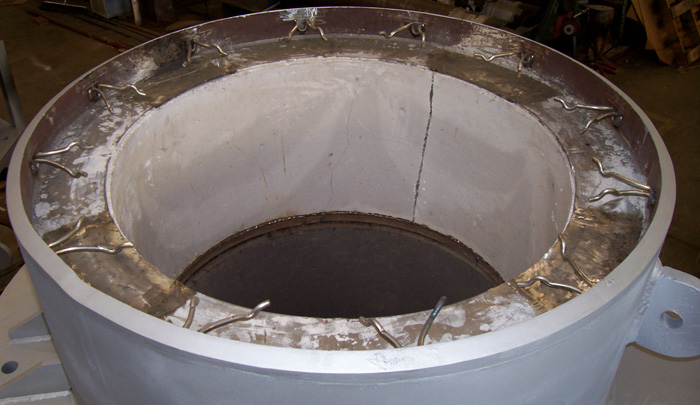"""44"""" Hinged Expansion Joints with Refractory Lining (#86076-77941 - 05/09/2007)"""