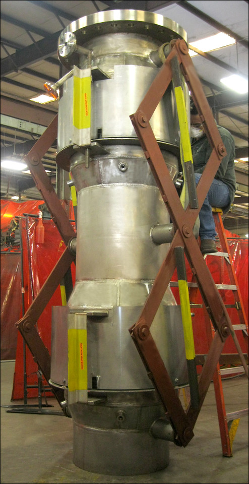 Universal Expansion Joint with Refractory Lining and Pantographic Linkage (#121486 - 12/09/2012)