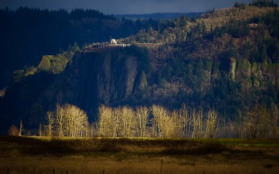 Crown Point, Oregon and Cottonwoods, Washington